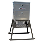 All Seasons 600# Stand&Fill Broadcast Feeder
