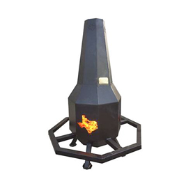 All Seasons Feeders Metal Chiminea