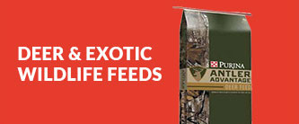 DEER & EXOTIC WILDLIFE FEEDS